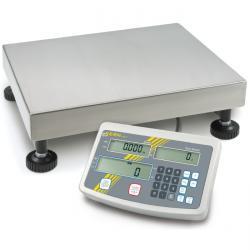 Bilancia a piattaforma - alta risoluzione - gamma di misurazione fino a 60 kg - calibrata