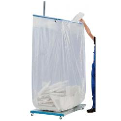 Waste bag - Pe - content 300 to 2500l - transparent