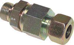 """Backventil - förzinkat stål - gänga G 1/4"""" till 1 1/2"""" - upp till 400 bar"""