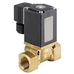 Solenoid Valves - 2/2-Way - Oil And Greaseless Medias - 16 Bar - Currentless Loc