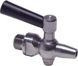 Provkran - rostfritt stål - PN 6