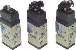 "Mechanically operated valve - G 1 / 4 ""- RLV400 5/2-way limit switch"
