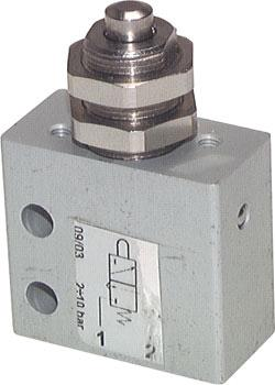 Pneumatic Limit Switch - 3/2-Way Stem Operated Valve - Standard - M 5