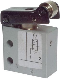 Limit Switch - 3/2-Way Roller Operated Valve - Standard - M 5