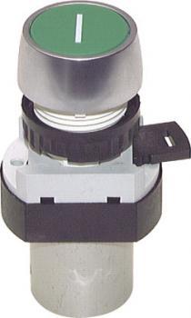 3/2-Wege-Tasterventil M5 für Schalttafeleinbau Ø 22,5 mm - Drucktaste - 13 N
