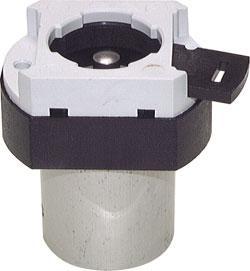 3/2-Wege-Tasterventil M5 für Schalttafeleinbau Ø 22,5 mm - Grundkörper