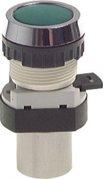 3/2-Wege-Tasterventil M5 für Schalttafeleinbau Ø 30,5 mm - Drucktaste - 15 N
