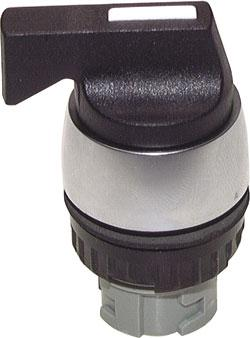 Betätiger-Aufsatz f. Tasterventile - Schalttaste mit Knebel 60 rastend