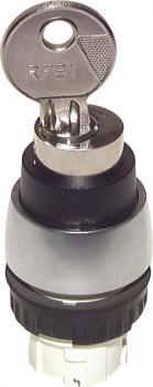 Betätiger-Aufsatz für Tasterventile - Schalttaste mit Knebel - 60º rastend mit 2