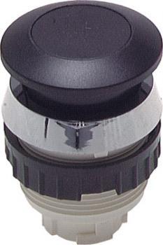 Betätiger-Aufsatz für Tasterventile (Ø 30,5 mm) - Pilztaste