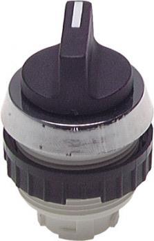 Betätiger-Aufsatz für Tasterventile  30,5mm Schalttaste m. Knebel 60° rastend