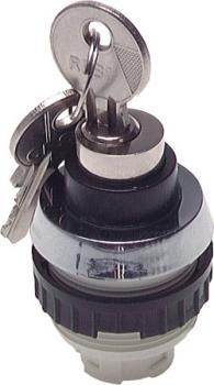 Betätiger-Aufsatz für Tasterventile  30,5mm Schloßtaste 2 Schlüssel