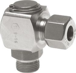 Slide Bearing Swivel Joints - Stainless Steel - Metric Thread - Heavy Constructi