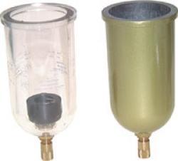 Ersatzbehälter für Filter und Filterregler - Standard - Kunststoff - automatisch