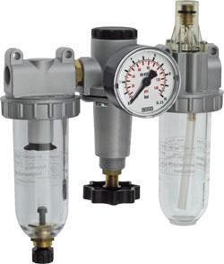 """Wartungseinheit 3-teilig Standard - G1/4"""" - G2"""" bis 18500 l/min"""
