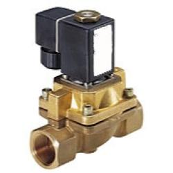 Solenoid Valve -  2/2-Way For Steams - 1 Up To 12 bar - Brass - Currentless Clos