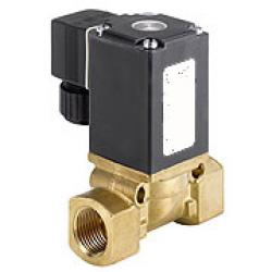 Solenoid Valve - 2/2-Way - Via Solvents And Hot Oils- Currentless Closed - 16 ba