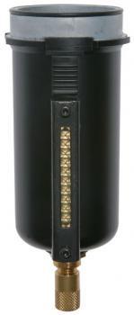 Reservbehållare - Multifix - metall med siktrör - automatisk avtappning