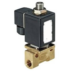"Solenoid valve - 3/2-way - 0 to 8 bar - G 1/4""- up to 180° C"