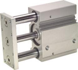 Führungszylinder - Kolben-Ø 16 bis 100 mm - Hub 10 bis 200 mm - Führung durch Ku