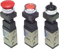 "5/2-Way Caliper And Rotary Switch G1/4"" - Construction Type PMEV400"