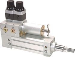 Ölbremszylinder - Kolben-Ø bis 100mm - bis 10 bar - nach ISO 15552 - Geschwindig