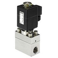 """Elettrovalvola a 2/2 vie - normalmente chiusa - per gas e liquidi neutri - 1 - 250 bar - G 1/2"""""""