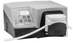 Slangpump modell 323Dz/4D - max. 2 bar - 0,5-1600 ml/min