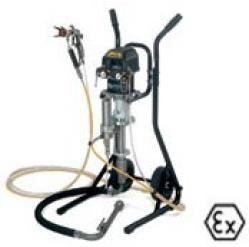 Wagner Wildcat 18-40 Spraypack Trolley - With Pneumatic Piston Pump - Without Gu