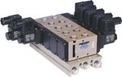 Anslutningsplatta - 2 till 10 stationer - byggserie SF5000