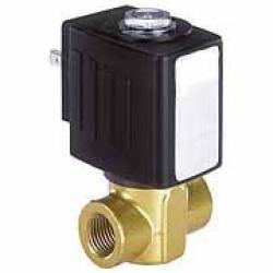 2/2-Wege Magnetventile - Druckluft, Wasser oder Hydrauliköl - 0 bis 25 bar - stromlos geschlossen