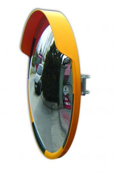 Safety Mirrors - acrylic glass - Ø 800mm - Edge yellow / black