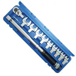 Klucz dynamometryczny set - 40-210 Nm - 11 sztuk