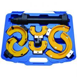 Federspanner-Set - Belastbarkeit ca. 1050 kg - mit 3 Paar Backen