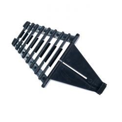 Halter für Maul/Ringschlüssel - Kunststoff - 8 Auflagen - mit Verriegelungsklapp