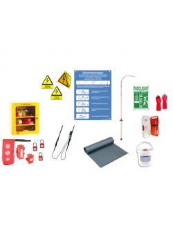 Gamma di sicurezza - per apparecchiature da officina ad alta tensione - con salvagente - CATU SEM-WAR1-D