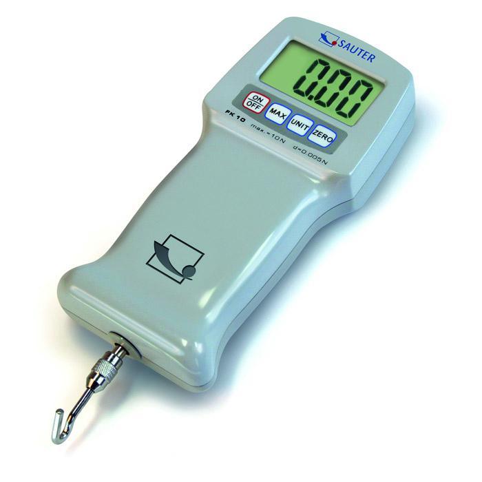 Force Gauge - Digitaalinen - Measuring välillä 10 1000 N - luettavuus [d] 0,005-0,5 N