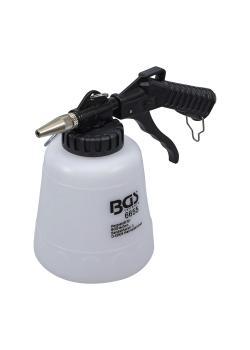 """Druckluft-Sodastrahlpistole - 1 Liter - Druckluftanschluss 1/4 """" - Luftverbrauch 57 l/min - Arbeitsdruck 6,3 bis 8,2 bar"""