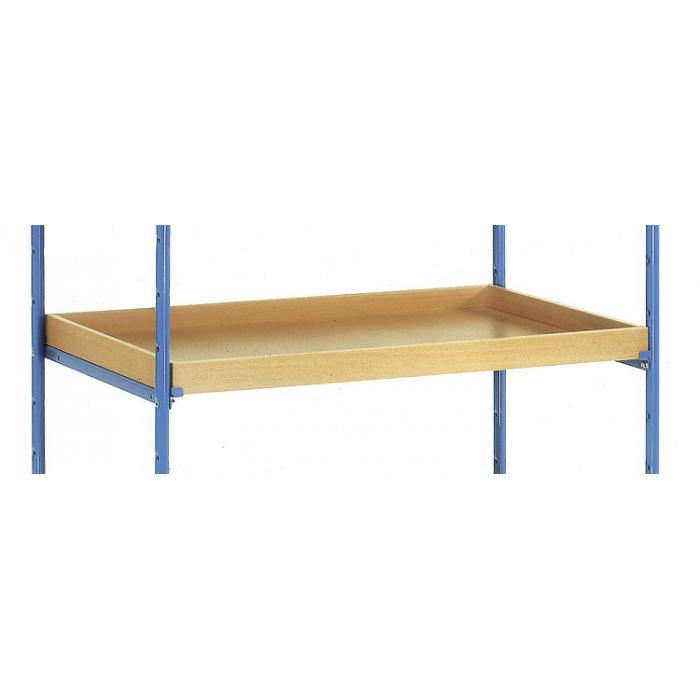 Box for shelf truck - incl. 1 pair of angles