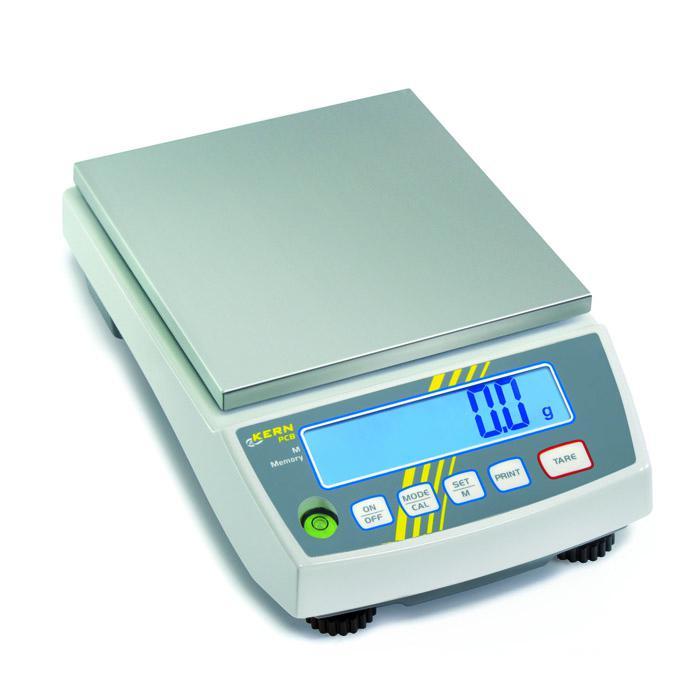Waage - für Laborbereiche - Wägebereich 0,1 bis 10 kg - Ablesbarkeit [d] 0,001 bis 1 g