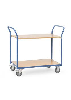 Table trolley - carrying capacity 200 kg - with 2 shelves