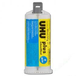 Restposten - UHU 2-Komponenten-Epoxidharzklebstoff - schnellfest - 50 ml