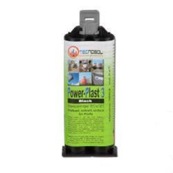 2-komponentlim - Power-plast 3 - 50 ml - svart
