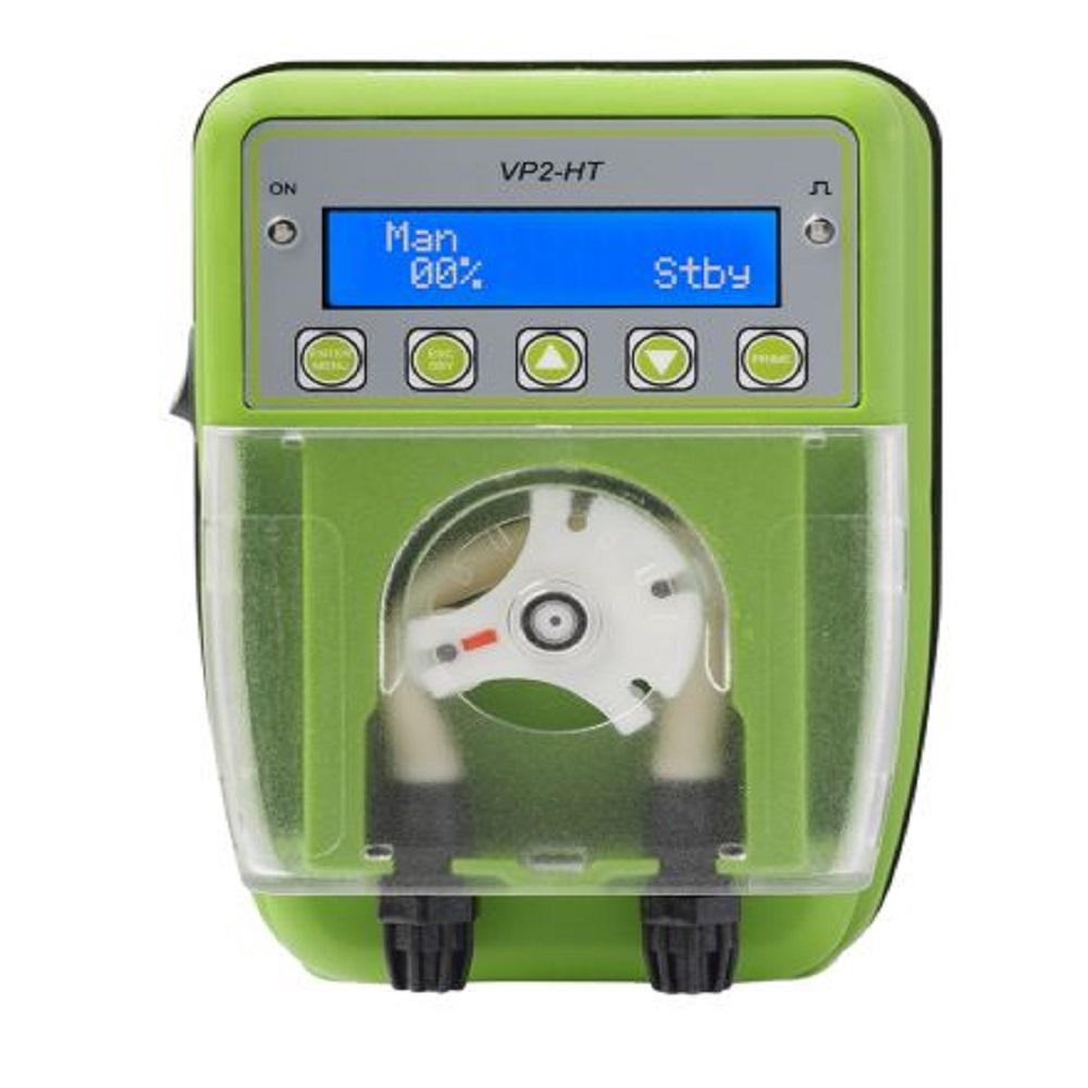 Dosier-Schlauchpumpe VP2-HT - CL/AMP- Schlauch Santoprene - Fördermenge 3-12 l/h - 1 bar - 50-60 Hz- Schuko-Stecker