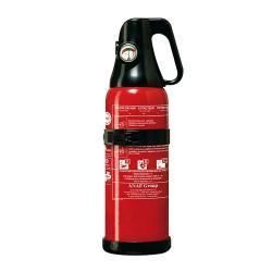 Pulversläckare - med manometer - för brandklass 5A, 34B och C - EN3 - 1 kg