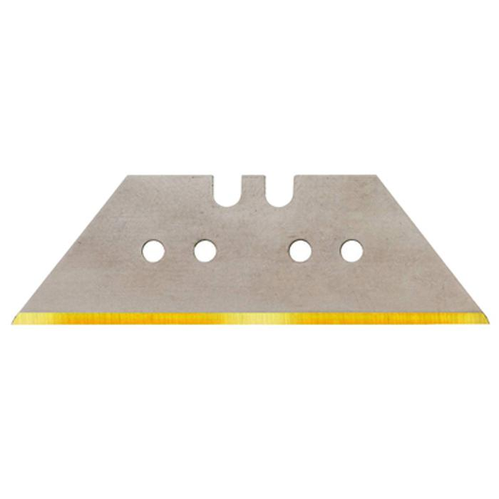 Lames trapèzoidales ou lames à crochet en titane - qualité Solingen - épaisseur 0,65 mm - grande et petite version