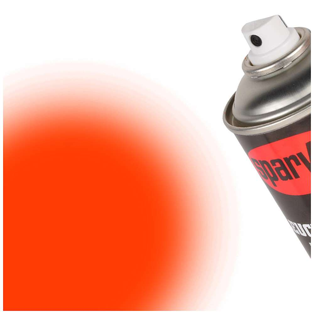 Sprayfärg - fluorescerande färger - 400 ml sprayburk