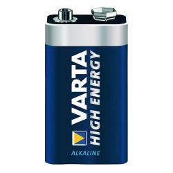 Batteri - E-block - VARTA HIGH ENERGY - 9V