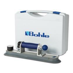 Veribor® Pumpensaugheber mit Zugpumpe - Aluminium - Saugscheibe ø 80 x 380 mm - Tragkraft 80 kg - im Koffer