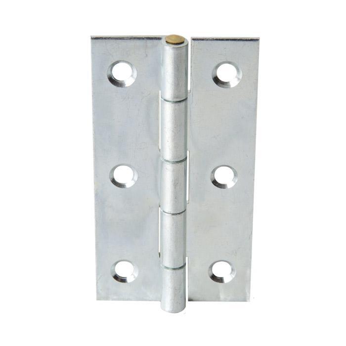 Scharnier - DIN 7954 A - gerollt - verzinkt - schmal - Preis per VE